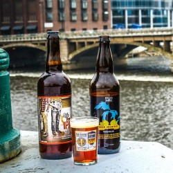 2014 Homebrew Con Commemorative Beers: Founders Oak-Aged Rye IPA & Bell's Beer Michigan Barleywine