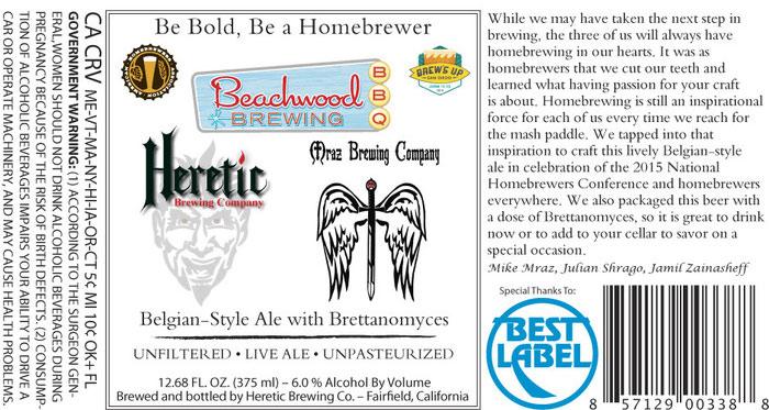 Heretic Homebrew Label