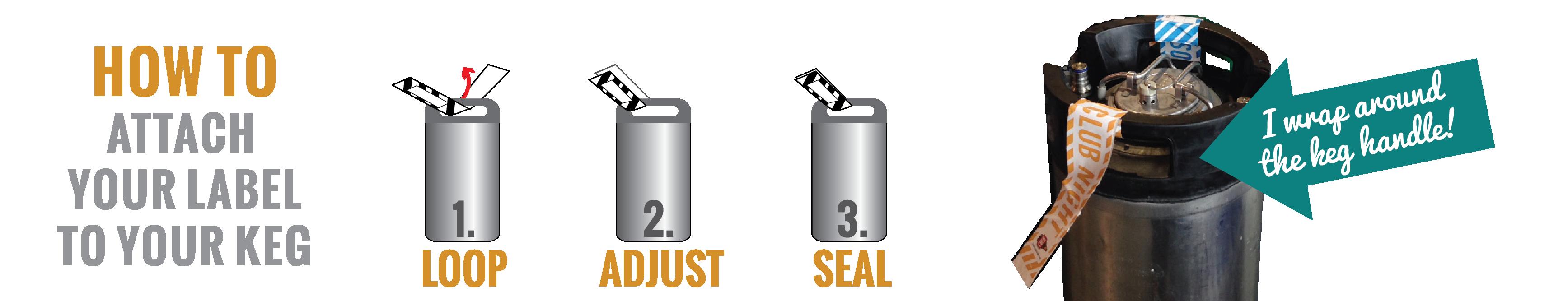 keg labeling info