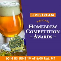 National Homebrew Competition Awards Ceremony